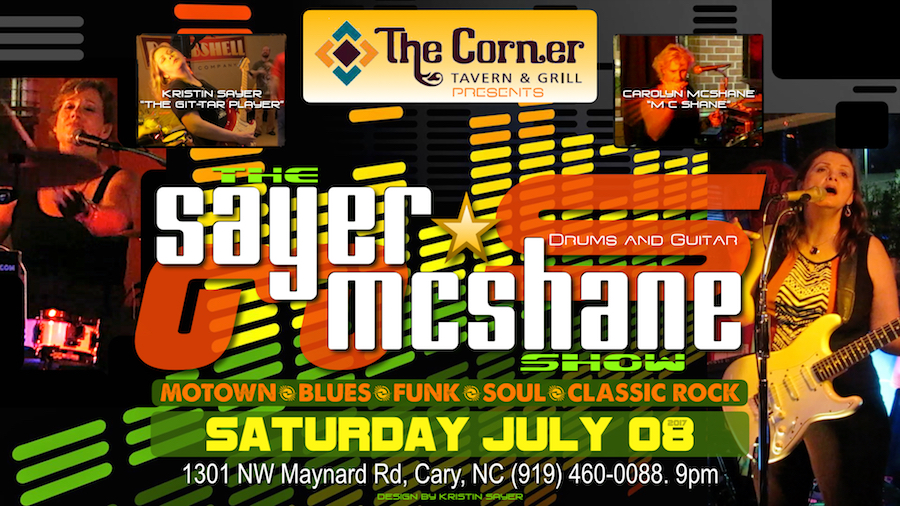 Sayer McShane at Corner Tavern - Cary, NC
