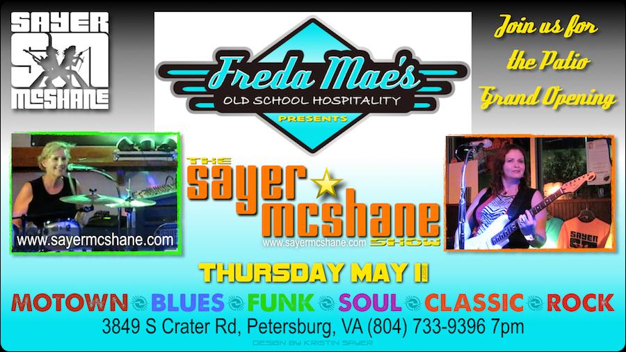 Sayer McShane at Freda Mae's - Petersburg, VA