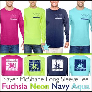 Sayer McShane 2 Sided Long Sleeve Tee - $34.95
