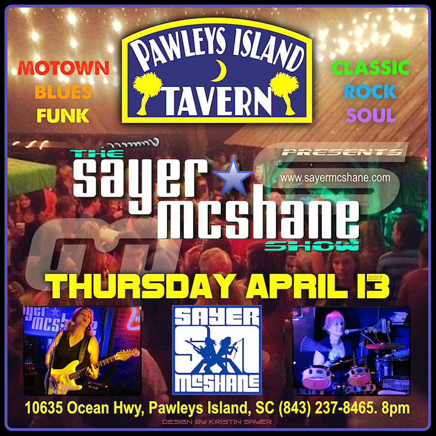 Sayer McShane at Pawleys Island Tavern - Pawleys Island, SC