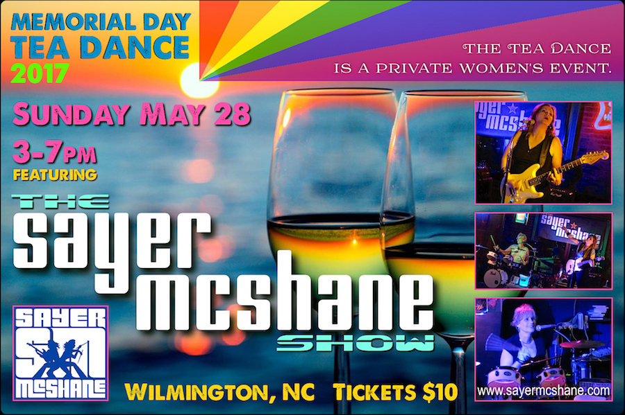 Sayer McShane at Memorial Weekend Tea Dance - Wilmington, NC