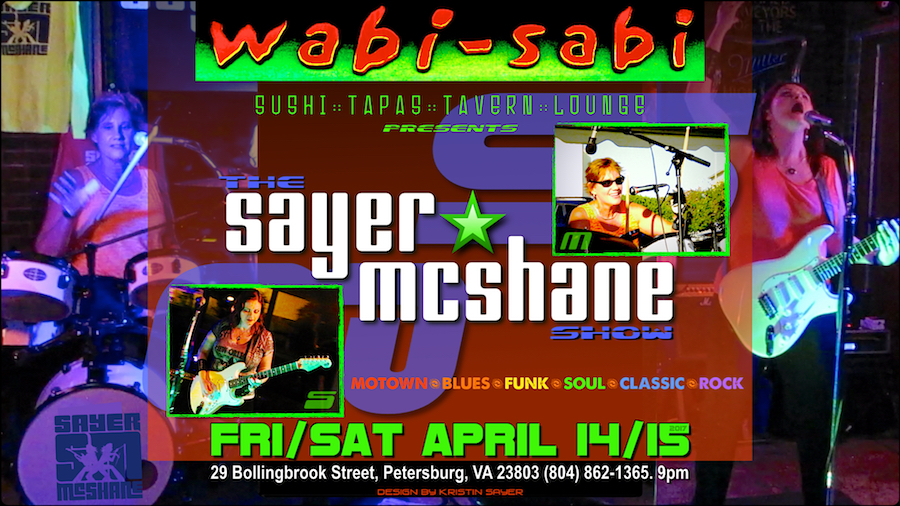 Sayer McShane at Wabi Sabi - Petersburg, VA
