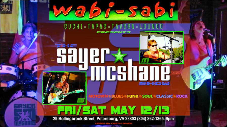 Sayer McShane at Wabi Sabi - Petersburg, VA