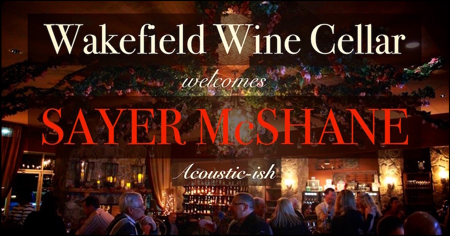 Sayer McShane at Wakefield Wine Cellar (Acoustic-ish) - Raleigh, NC