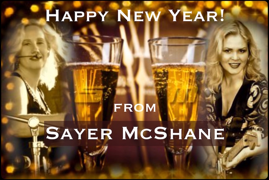 Happy New Year from Sayer McShane!