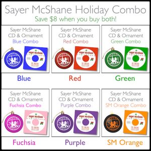 Sayer McShane CD/Ornament Combo - $18.75