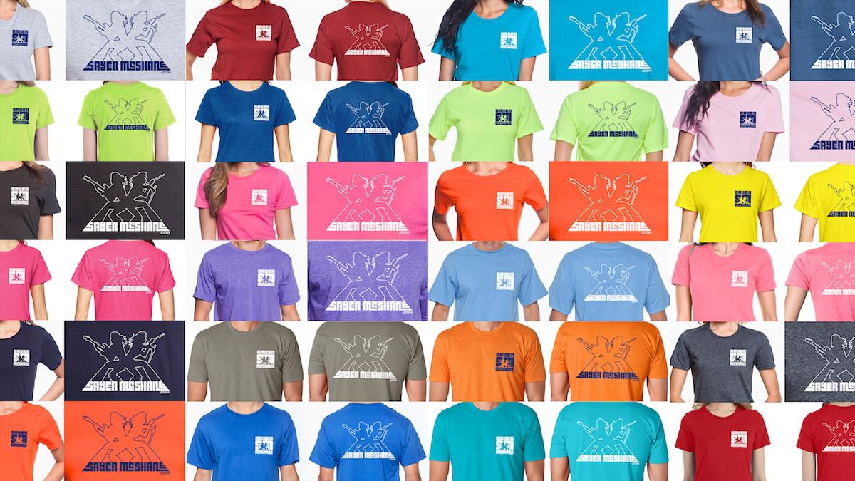 Shirt design blog - Sayer Mcshane Unveils New T Shirt Design