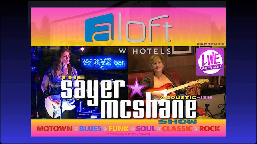 Sayer McShane at Aloft Live Chapel Hill, NC