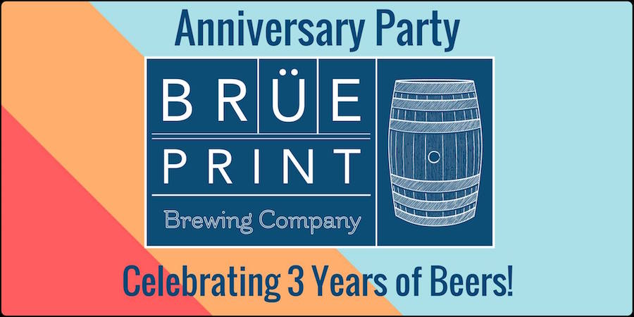 Brüeprint Brewing Company 3rd Anniversary Party - Apex, NC