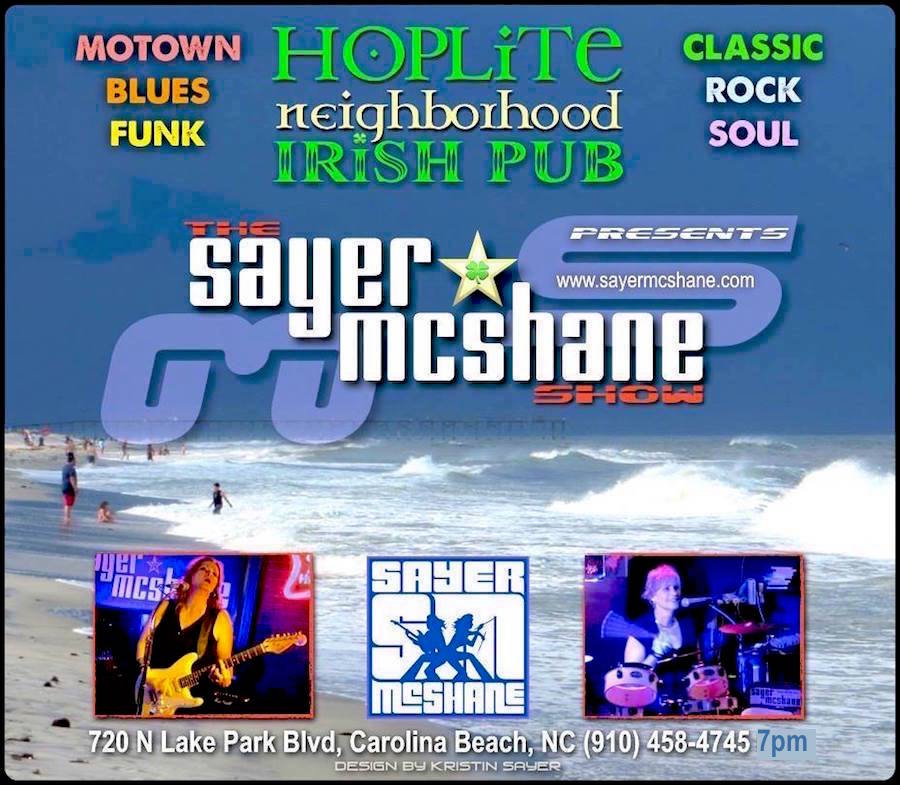 Sayer McShane at HopLite Pub - Carolina Beach, NC