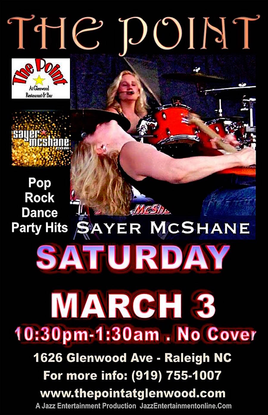 Sayer McShane at The Point - Raleigh, NC