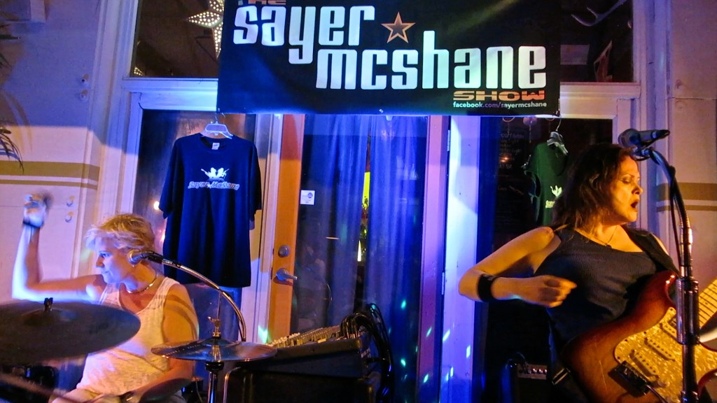 Sayer McShane at Queens Head 4-21-16
