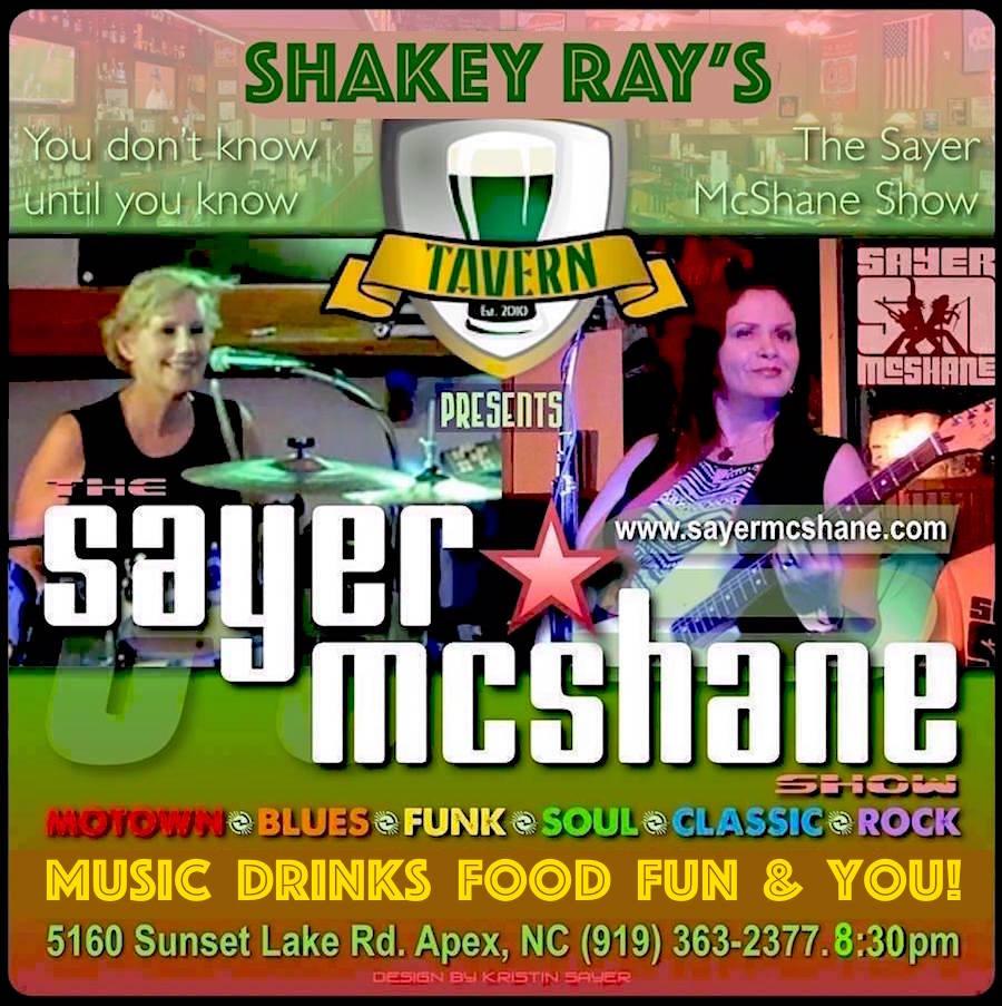 Sayer McShane at Shakey Ray's Tavern - Apex, NC