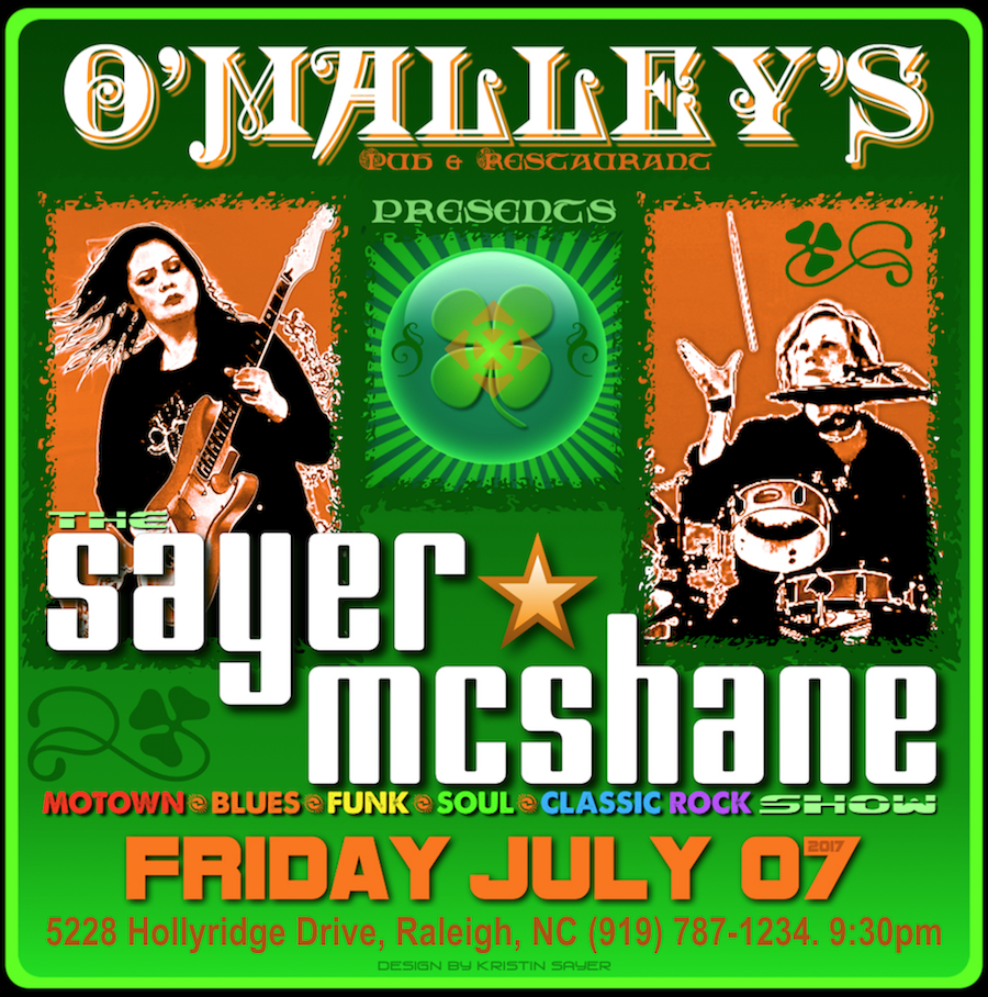 Sayer McShane at O'Malley's Pub - Raleigh, NC